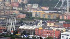 ITALIA/ 11 fallecidos y cinco heridos tras desplomarse un puente en Génova
