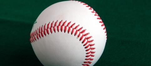 Image of a baseball. [Image Source: Tage Olsin - Wikimedia Commons]