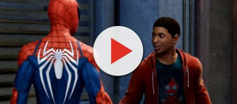 Miles Morales will help Spider-Man save New York in the game [Image Credit: PlayStation/YouTube screencap]