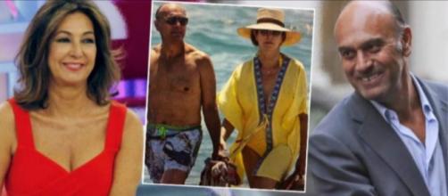 Ana Rosa Quintana y su marido en imagen