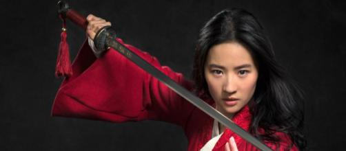 Check out the first pic of Liu Yifei in the live-action 'Mulan' - (Image via vanyaland.com/Twitter)