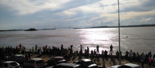 El río Orinoco amenaza con desbordarse en cualquier momento