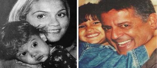 Giulia era apenas uma criança quando o pai faleceu.