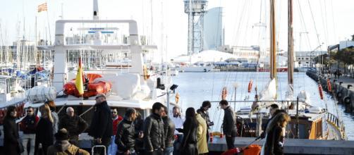 Puertos de España revelan alta migración