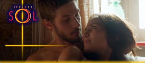 Rosa e Ícaro voltam a ter relações na novela Segundo Sol