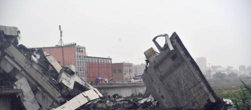 Tragedia en Italia: se derrumba el puente Morandi