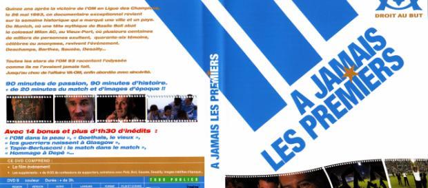 Jaquette DVD de OM a jamais les premiers - Cinéma Passion - cinemapassion.com