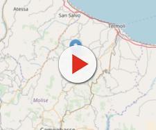 Scossa di terremoto in Molise: epicentro si trova a 6 km a sud Montecilfone