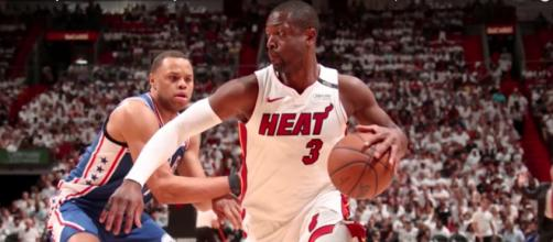 A new report says D-Wade will play one last season with the Miami heat before retiring. [Image via Sports Illustrated/YouTube]