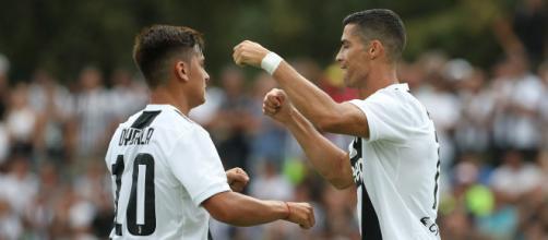 Cristiano Ronaldo marco su primer gol con la Juventus