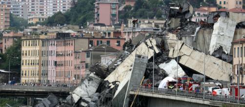 ITALIA/ Desplome de un viaducto en Génova deja un saldo de al menos 39 fallecidos