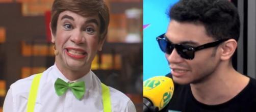 """Humorista Igor Guimarães diz no """"Pânico"""" que revelou homossexualidade à família no Dia dos Pais Imagem: Reprodução/YouTube/Pânico Jovem Pan"""