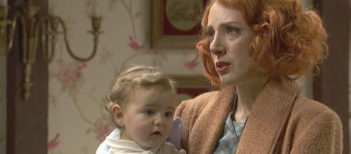 Il Segreto: Irene insieme a suo figlio