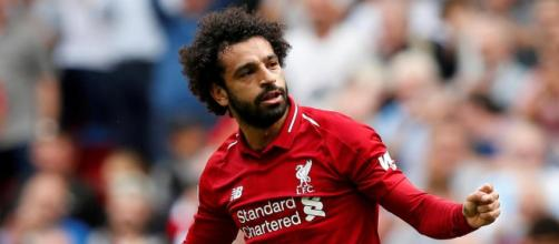 Mohamed Salah, attaccante egiziano del Liverpool