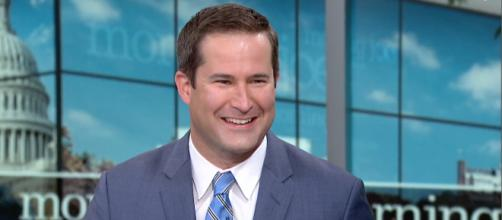 Moulton during his appearance on MSNBC's Morning Joe, where he discussed the state of the Democratic Party. [Image source: MSNBC - YouTube]
