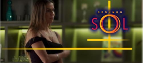 O passado de Karola será revelado em breve na novela Segundo Sol