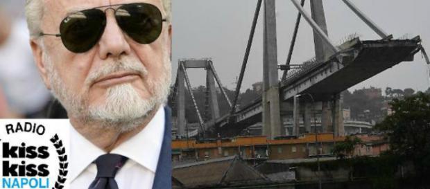 Aurelio De Laurentiis e le parole di cordoglio per Genova. Blasting News