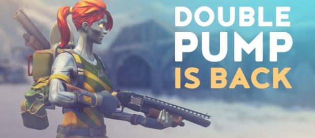 Double pump is coming back to 'Fortnite.' [Image Source: dakotaz - YouTube]