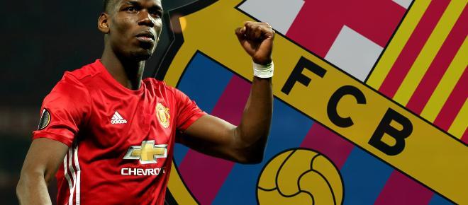 Fútbol Club Barcelona quiere incorporar a Dembelé y Pogba a su equipo