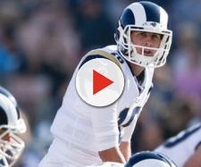 Goff and the Rams are getting some early respect at the Vegas window. - [NFL.com / YouTube screencap]