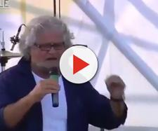 """Grillo nel 2014 sul palco dei """"No Gronda"""""""
