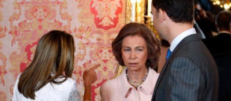 Letizia y Doña Sofía en imagen de archivo