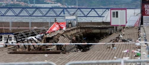 Accidente en Vigo: Testigos del accidente de 'O Marisquiño'