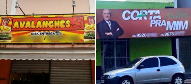 A criatividade do brasileiro não tem limites. Fotos: Reprodução.
