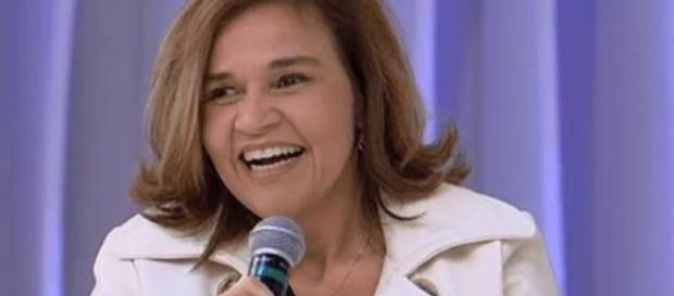 Atriz Cláudia Rodrigues no 'Super Pop'