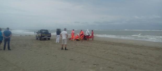 Calabria, fulmine colpisce due fratelli: sono gravi (foto di repertorio)