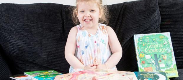 La niña de tres años que tiene un coeficiente superior al de ... - com.ar