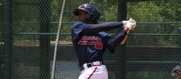 Ronald Acuna Jr. has been one of the game's best hitters since the All-Star break. [Image Source: Flickr | Bryan Green]