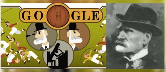 Doodle do Google presta homenagem a Ebenezer Cobb Morley, o pai do futebol moderno