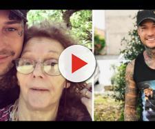 Manuel Vallicella dedica un messaggio alla mamma malata