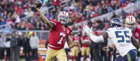 John Elway reportedly wanted Colin Kaepernick to play in Denver. [Image Source: NFL - YouTube]
