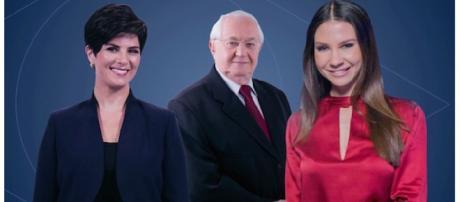 Mariana Godoy, Boris Casoy e Amanda Klein devem mediar o debate entre os presidenciáveis com direito a lives multiplataforma.