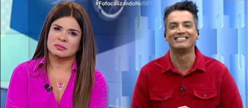 Mara chegou a dizer que Leo Dias estava divulgando fake news