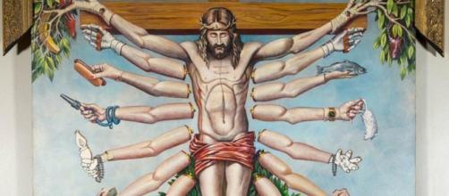 Obra do gaúcho Fernando Baril, que faz parte da mostra Queermuseu - Foto: Reprodução.