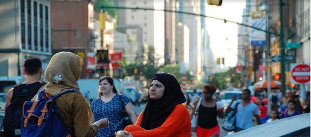 Countering VW - Image - Nikon D40 attribution link - https://www.maxpixel.net/Conversation-Muslim-Women-Columbus-Circle-New-York-1688794