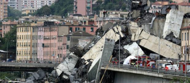 Puente de Génova cede por mala construcción