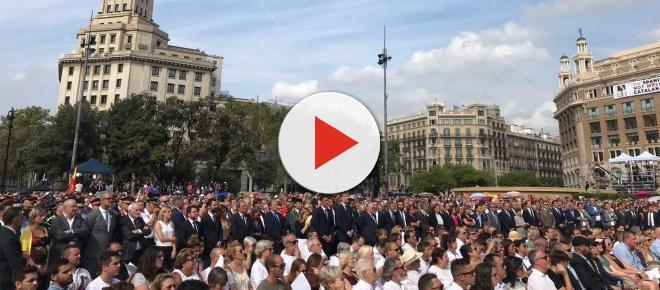 Actos de homenaje a las víctimas del 17A junto al Rey Felipe VI y Pedro Sánchez
