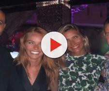 Julien Bert très proche de Camille Cerf en soirée à Saint-Tropez