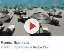 La 'ronda buonista' organizzata da Radical Chic