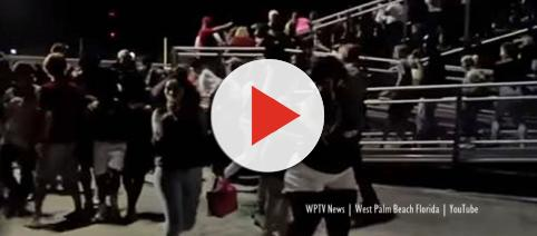 Palm beach Wellington, Florida shooting at school football match - Image credit - WPTV News | West Palm Beach Florida | YouTube