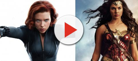 Playing superhero roles has paid off nicely for Scarlett Johansson and Gal Gadot. - [Super Nerd Video / YouTube screencap]