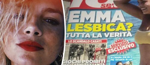 Presunta omosessualità di Emma Marrone: la cantante sbotta sui social