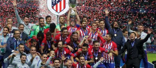 El Atlético de Madrid se proclama campeón de la Supercopa de Europa por 4-2
