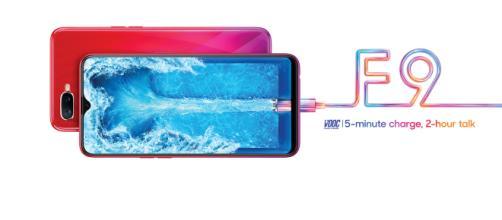 Oppo ha lanzado el nuevo teléfono inteligente F9