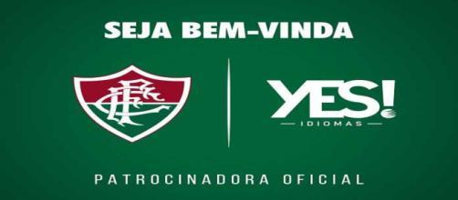 Fluminense acerta patrocínio com grupo de ensino Yes (Foto: Site Oficial do Fluminense F.C.)