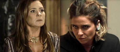 Luzia inicia vingança contra Laureta. (Foto: Divulgação TV Globo)